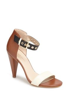 Trina Turk La Jolla Ankle Strap Sandal. Love the mixed colors.
