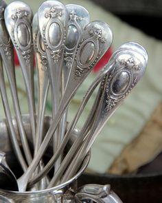 Vintage French silverware