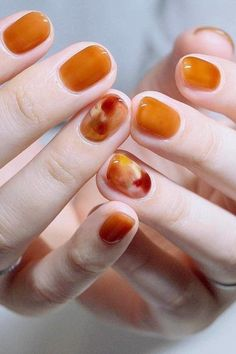 love these fall nails