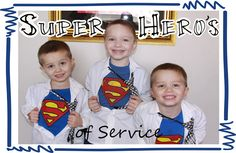 Super Heroes of Service--cute boys and blog