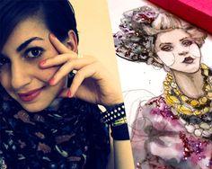 @Katie Hrubec Rodgers: Apparel Designer & Fashion Illustrator, via the Official Pinterest Blog
