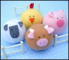 Download Barnyard Ball - Toy Sewing Pattern | Featured Products | YouCanMakeThis.com