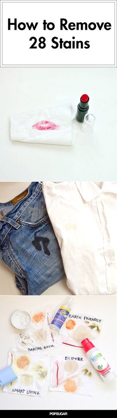 28 DIY Solutions For Removing Any Type of Stain