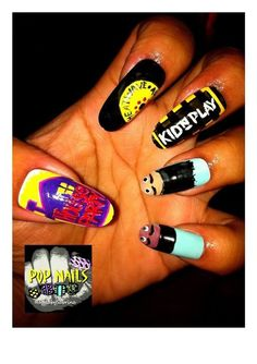 Nails by @POPnails_NbyS      Are your nails more styled than your outfit? Do you have more art on your fingertips than your walls? Is your stash of polish taking over every cupboard in your house? Sounds like you could have an Obsessive Fashion Disorder.     Email us a picture of your nail designs to OFD@asos.com or tweet us a pic with the hashtag #ASOSOFD and the coolest, craziest and most creative pics will be to be diagnosed with OFD will be posted on the ASOS Pinterest.  Nail Art.
