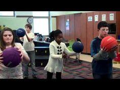 Rhythm with Basketball.Gotta do this!