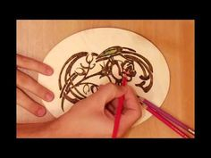 this 7 minutes shows the basics of Pyrography / wood burning art. it starts by copying patterns on wood, burning, shading and coloring. it is an excellent guide for beginners.