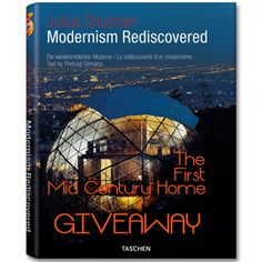 "GIVEAWAY!  Click on the pic to have the chance of winning ""Modernism Rediscovered"" !"