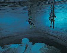 Cocklebiddy Cave, Australia Cave Diving
