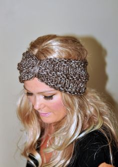Turban Headband Crochet Ear Warmer