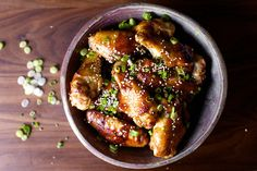 sticky sesame chicken wings | smittenkitchen.com