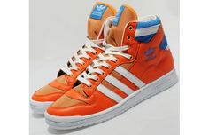 "adidas Originals Decade Hi ""Orange/Blue"""