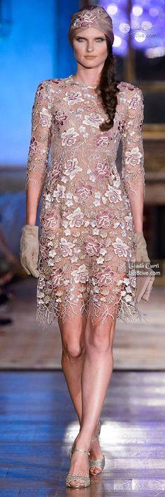 Interesting #Fabric Detail ~ Giada Curti Shukran Collection