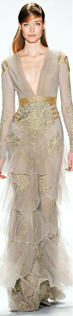 ~Badgley Mischka Fall 2014 | The House of Beccaria