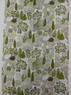 Hannah Reeves Print Design 2013. Outdoors, woodland, fresh, green.