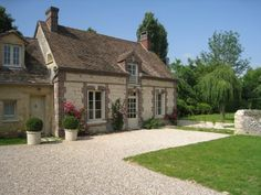 Old Normandy Rectory house