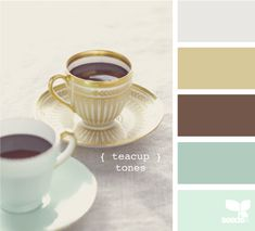 teacup tones teacup tone, color palett, bathroom color, living rooms, design seeds, color schemes, bedroom colors, master bedrooms, paint