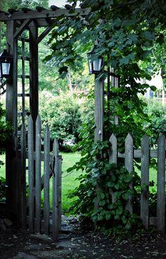Gate to the garden