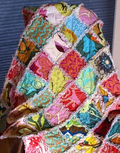 rag quilts look so inviting