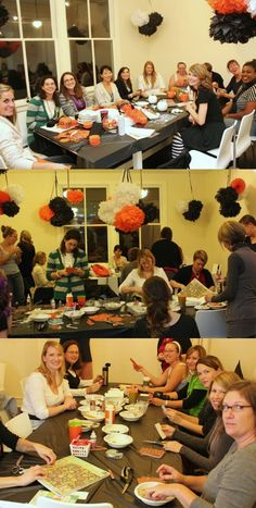 Halloween craft party...fun!