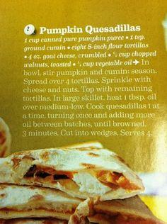 A savory pumpkin recipe