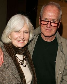 *Paul Newman and Joanne Woodward. Married 50 years.
