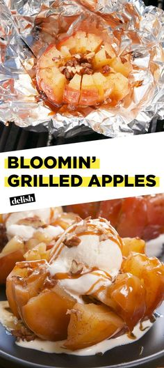 Bloomin' Grilled Apples Will Slay Any Summer BBQDelish