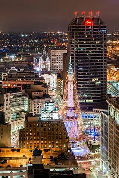 Circle of Lights - Indianapolis, Indiana