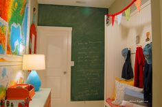 Colorful Mudroom Ide