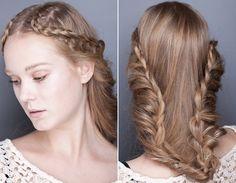 penteados do Fashion Rio