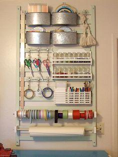 Arrange craft tools