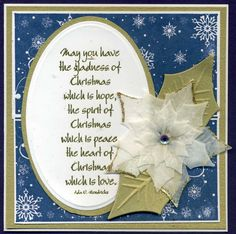 vellum poinsettia christma card, vellum poinsettia