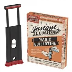 """Want to """"see"""" a finger chopped? Get the Instant Illusions Magic Guillotine to stun your friends! $5.99 #magic #trick #magician"""