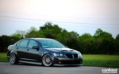 Pontiac G8 with Hypersilver Linea Corse Z2 wheels