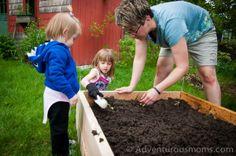 9 Reasons to Garden With your Kids!   adventurousmoms.com