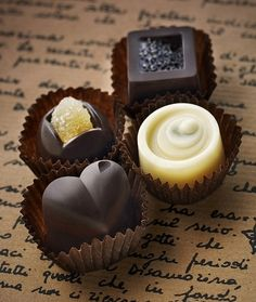 Truffles and chocolates