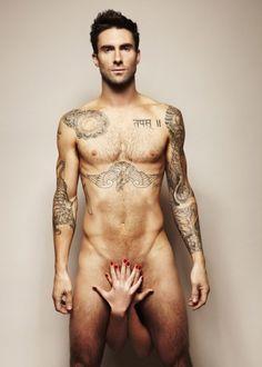 Adam Levine for testicular cancer ad.   Woah.