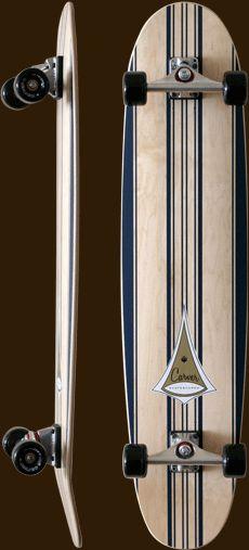New vintage carver longboard