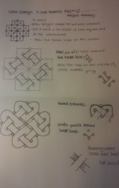 Celtic Knot Hearts