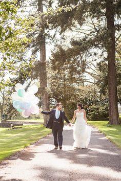 Parisian Inspired Wedding in the English Countryside | Charlene Morton Photography