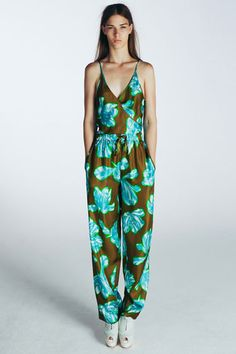Tropical Trend at Jonathan Saunders Resort 2014 - Resort Fashion Trends 2014 - Harper's BAZAAR