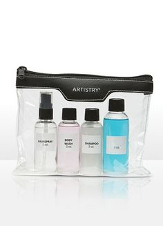 Artistry travel bag   www.amway.com/AlishaStailey