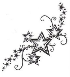 Star-tattoo-for-girls-21433265_large...without the swirls and tiny stars..