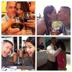 John Cena and Nikki Bella ❤