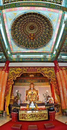 Thean Hou Temple Prayer Hall - Kuala Lumpur, Malaysia