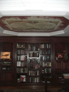 Ceiling murals by muralsyourway on pinterest murals for Ceiling mural in a smoker s lounge