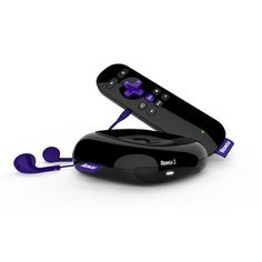 Roku 2 1080p Streaming Media Player - Black