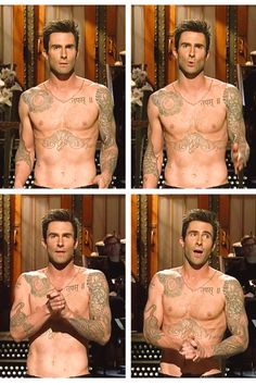 Ya know, just my boyfriend, shirtless, on SNL. ;)