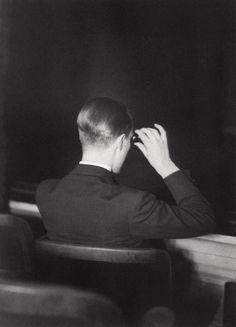 paul citroen in the theatre, 1929.