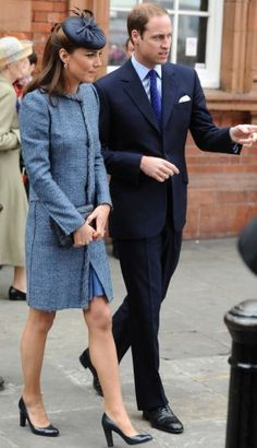 The Queen and The Duke and Duchess of Cambridge, during her visit to Vernon Park in Nottingham, June 13, 2012.