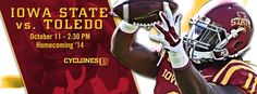 Cover Photo for the homecoming game October 11 vs Toledo, remember to get to your seats early if you want a look at the pregame festivities #LoyalForeverTrue #Homecoming #ExCYted